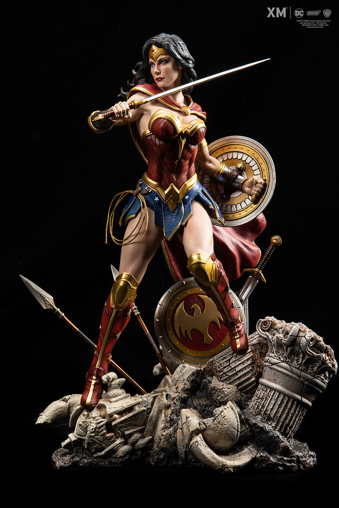 XM Studios Premium Collectibles 系列 DC Rebirth【神力女超人】Wonder Woman 1/6 比例全身雕像作品