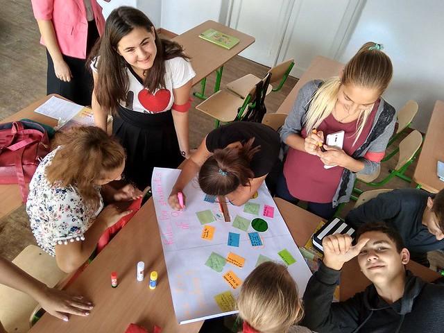 Урок-дискусія з англійської мови в ЗОШ №16