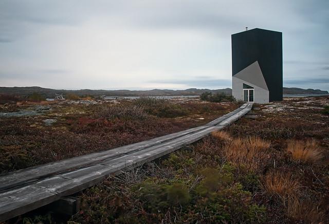 Tower studio, Fogo Island, NL