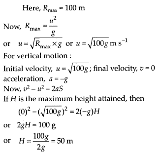 NCERT Solutions for Class 11 Physics Chapter 4 Motion of plane 19