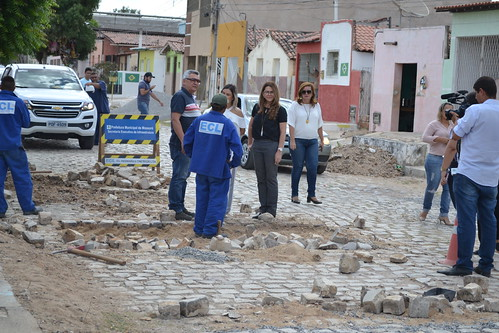 01-11-2018- Prefeita em exercício Nayara Gadelha Visita Obras - Luciano lellys (137)