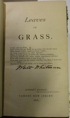 Penn Libraries PS3201 1876: Title page