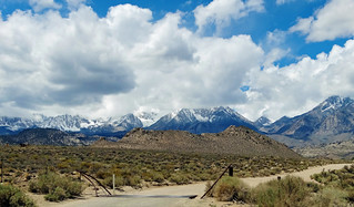 Mt Whitney Hiding, Sierra Nevada, CA 2016