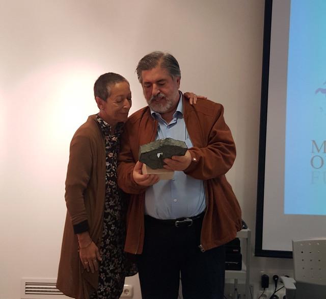 Premio Mario Onaindia a J Eguiguren
