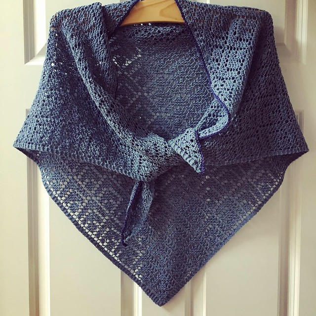 Seashore Lace Shawl