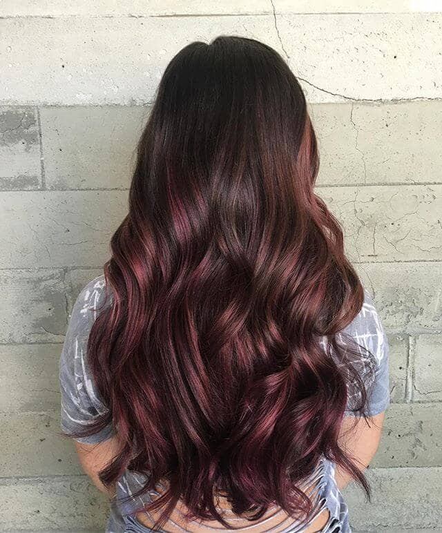 best burgundy hair dye to Rock this Fall 2019 19
