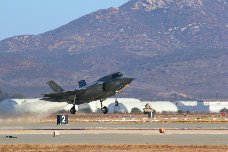 IMG_0976 F-35B Lightning II Taking Off