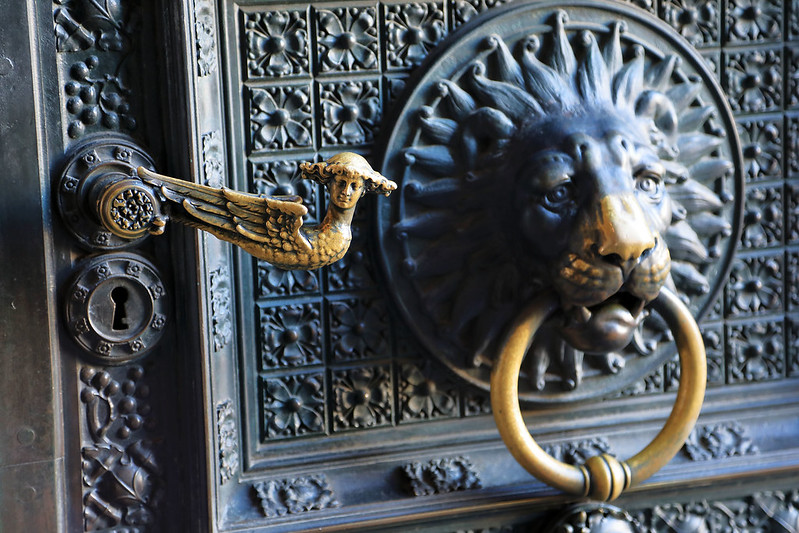 Door handle of the Kölner Dom