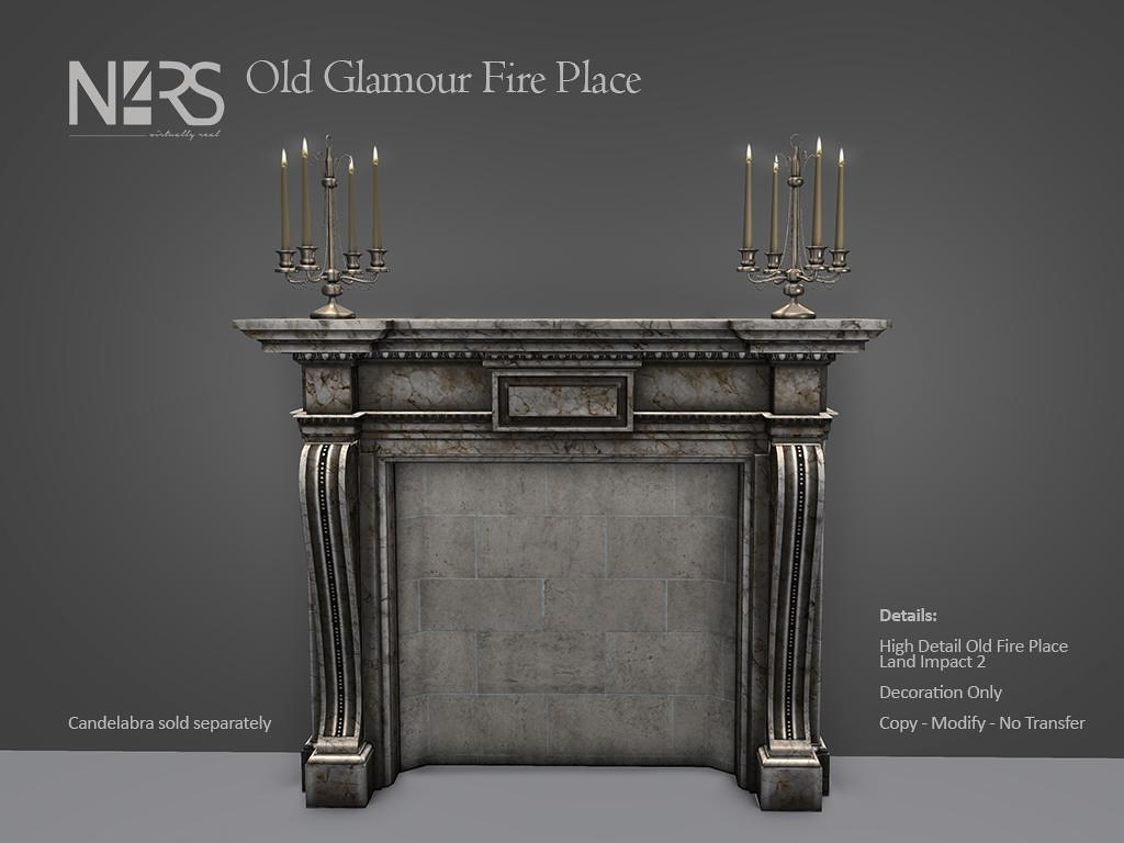 N4RS Old Glamour Fire Place