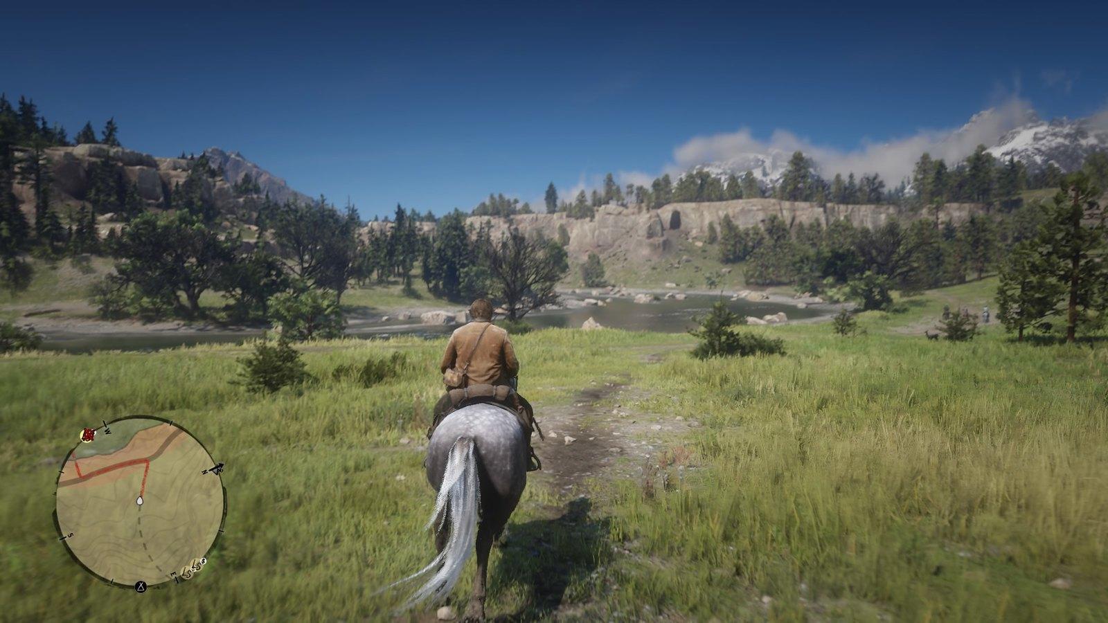 Fantastisks kalnu skats