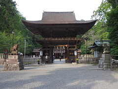 Photo:Mikami Shrine (御上神社) entrance By Greg Peterson in Japan