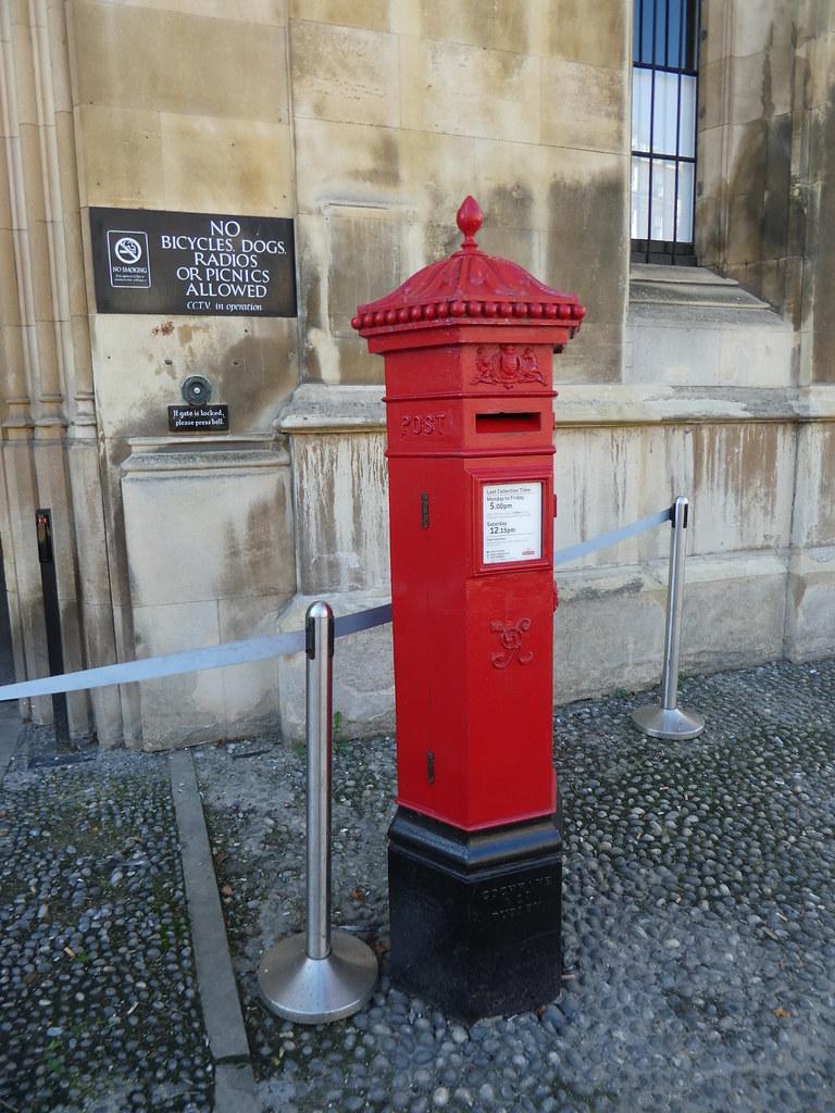 1860's Penfold postbox Cambridge