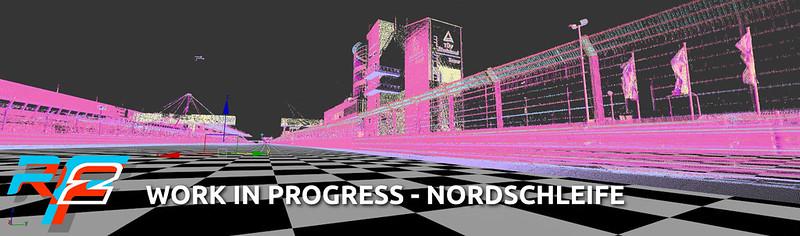rFactor 2 Nürburgring Nordschleife In Progress