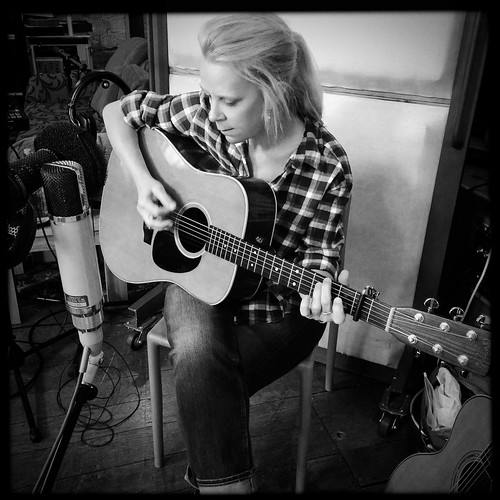 Mary Chapin Carpenter at Real World Studios