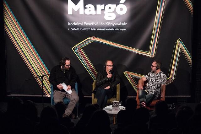 Volt egyszer egy NDK - közönségtalálkozó és felolvasás a Margó Fesztiválon