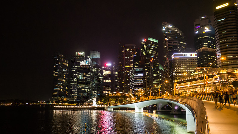 Jubilee Bridge, Marina Bay, Singapore