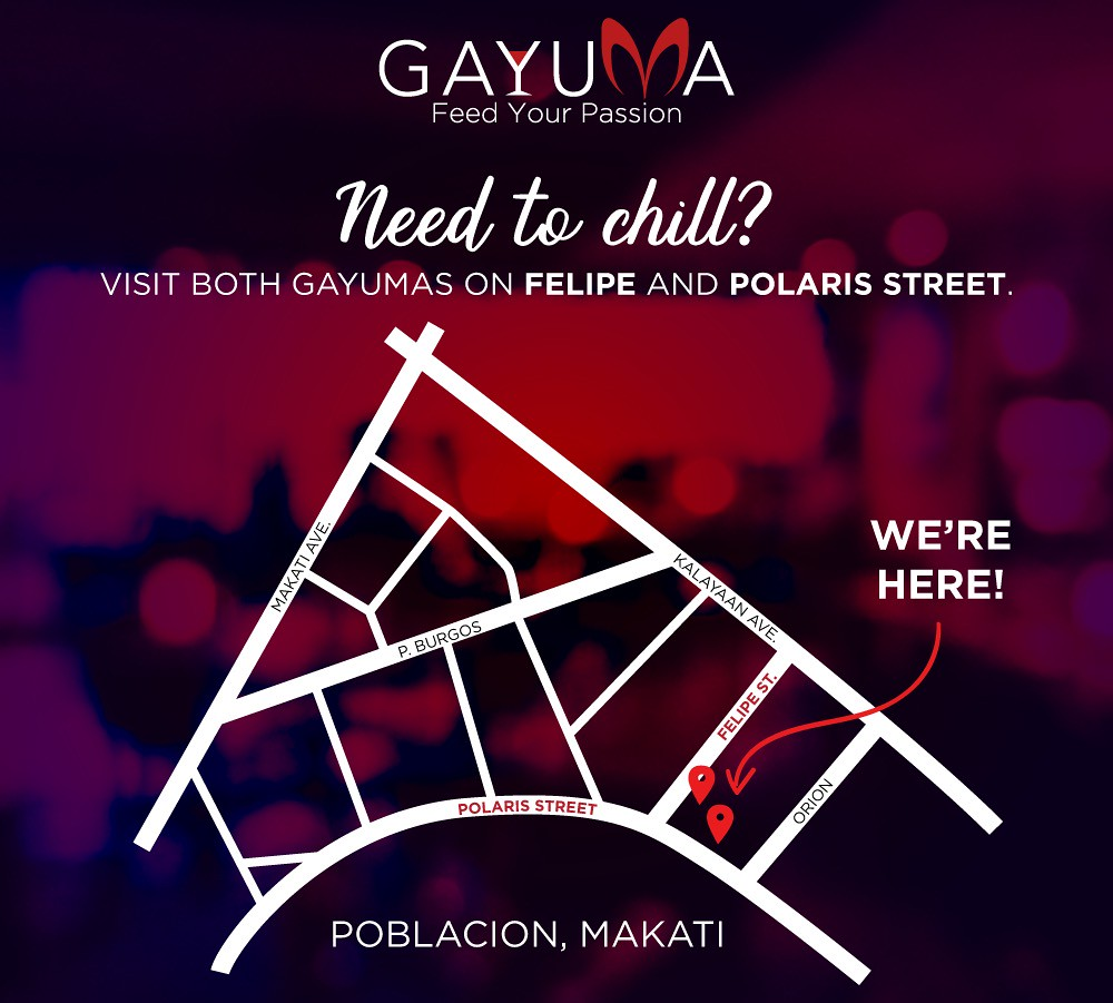 The Hungry Kat — Feed Your Passion at Gayuma in Poblacion