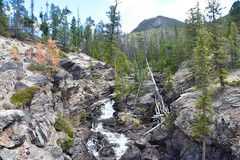 Colorado waterfall - Rocky Mountain National Park
