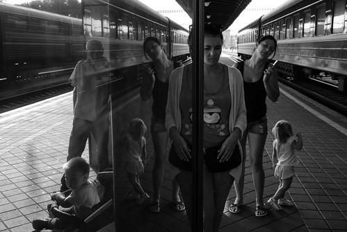 Kiev train station
