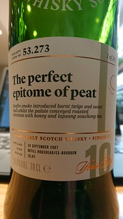 SMWS 53.273 - The perfect epitome of peat