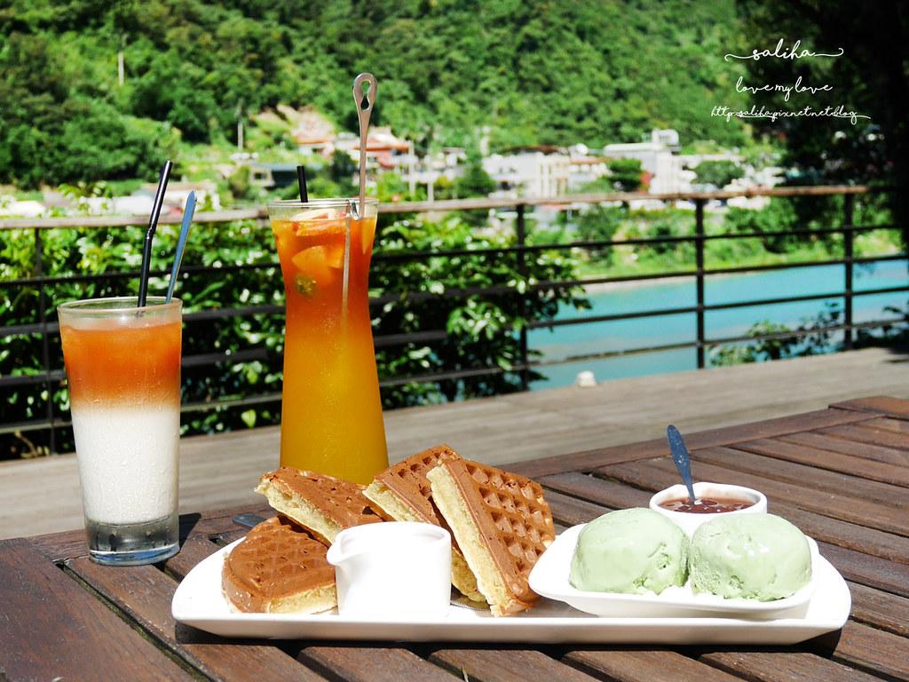 烏來一日遊景點行程La Villa Wulai景觀咖啡下午茶鬆餅 (8)