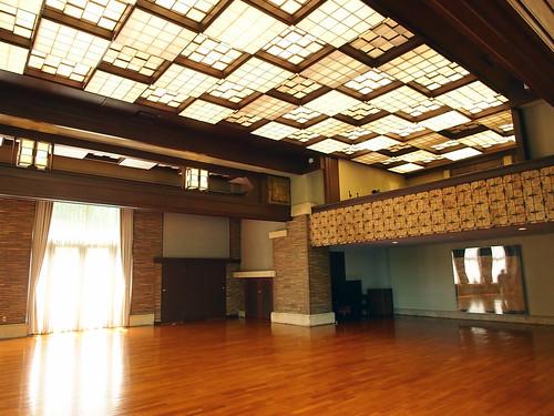 まんぷく5話商工会のシーンが撮影された西ホール