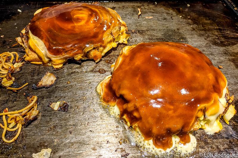 ¡Okonomiyakis listos!