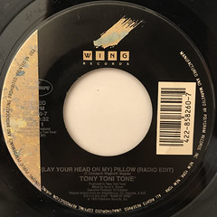 TONY TONI TONE':(LAY YOUR HEAD ON MY)PILLOW(LABEL SIDE-B)