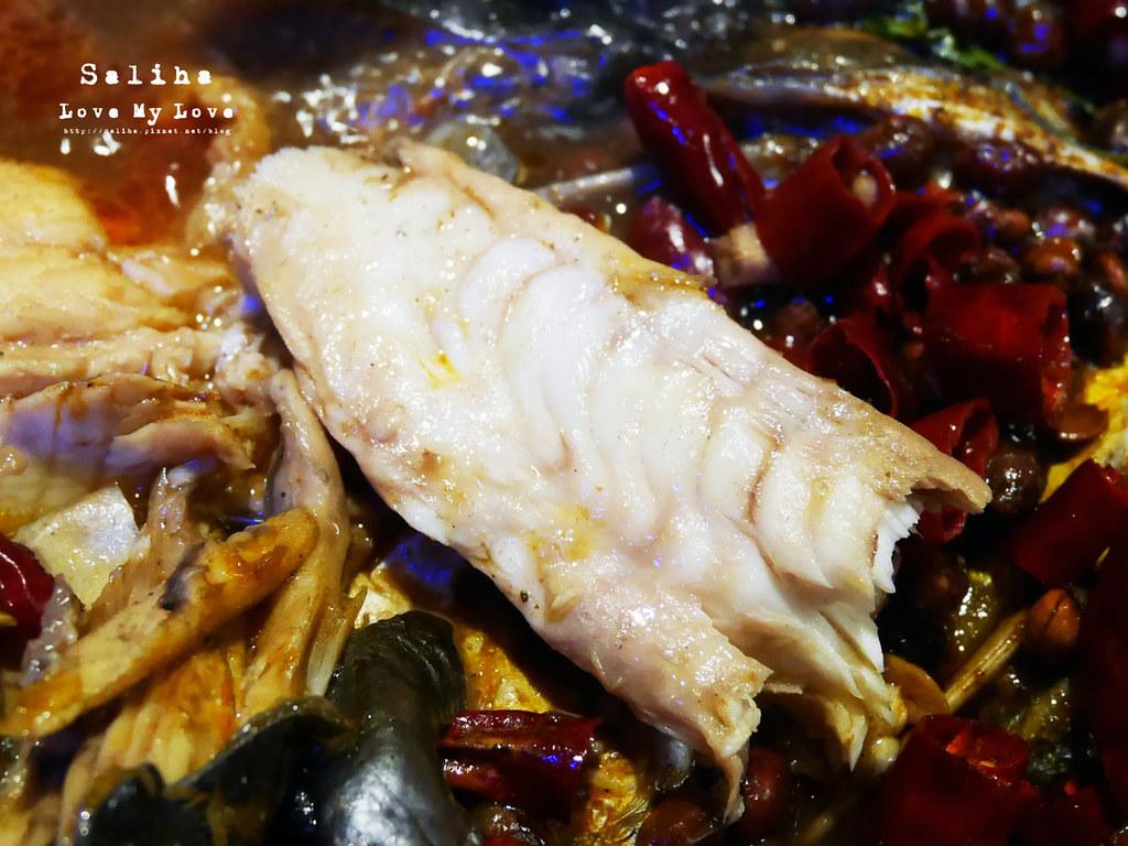 新北好吃火鍋聚餐餐廳推薦水貨炭火烤魚中和店 (1)
