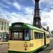 UK Blackpool - English Electric Railcoach tram 680 at North Pier
