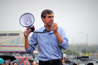 Early Voting with Beto O'Rourke. | by JEFF J NEWMAN PHOTOGRAPHER