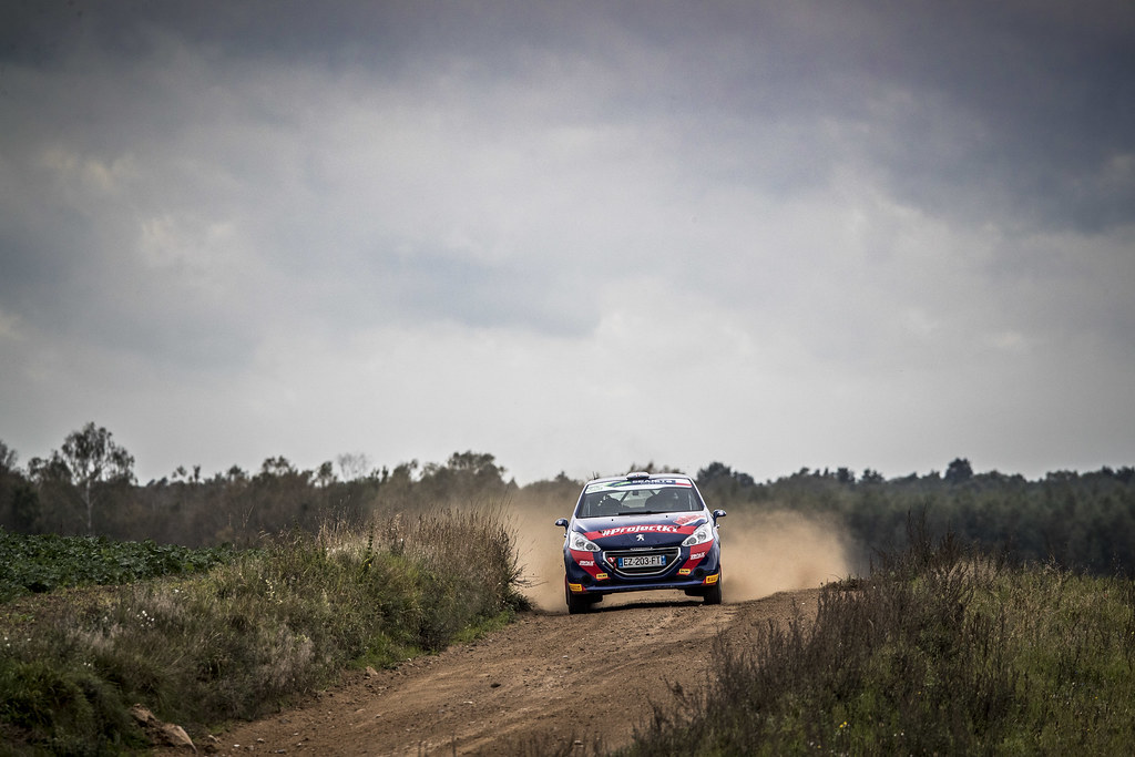 25 MUNNINGS Catie (GBR), STEIN Anne Katharina (DEU), SAINTELOC JUNIOR TEAM, Peugeot 208 R2, action during the 2018 European Rally Championship PZM Rally Poland at Mikolajki from September  21 to 23 - Photo Gregory Lenormand / DPPI