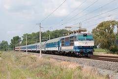 EuroCity 273 près de Břeclav
