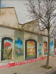 Street art, graffiti, Braço de Prata. Lisboa