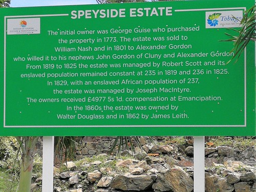 Speyside Estate, Tobago
