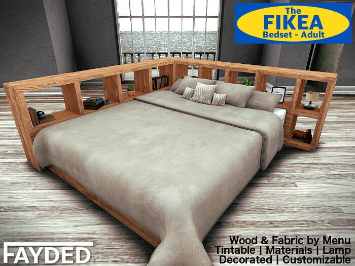 FAYDED - Fikea Bedset - TeleportHub.com Live!