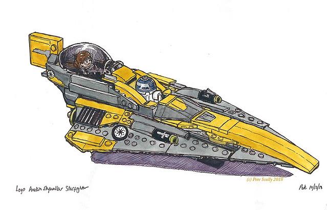 Lego Anakin Starfighter