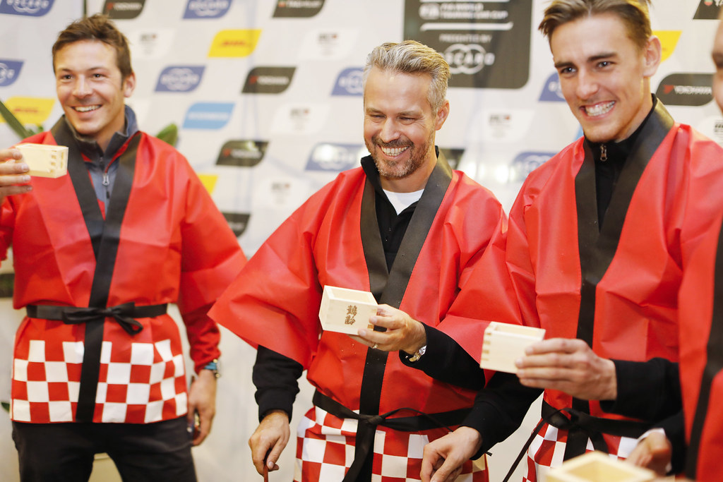 MONTEIRO Tiago, (prt), Honda Civic TCR team Boutsen Ginion racing, portrait CECCON Kevin (ITA), Alfa Romeo Giulietta TCR, Mulsanne Srl, portrait during the 2018 FIA WTCR World Touring Car cup of Japan, at Suzuka from october 26 to 28 - Photo Francois Flamand / DPPI