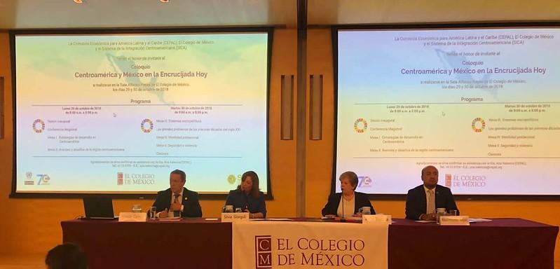 """Ceremonia Inaugural del Coloquio: Centroamérica y México en la Encrucijada Hoy"""""""