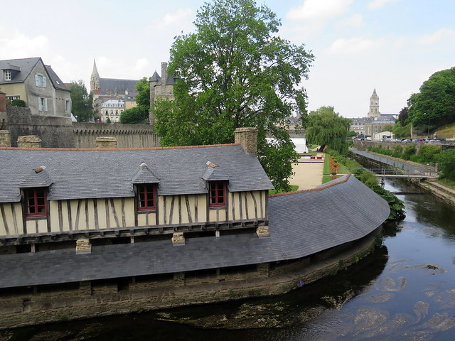 The old wash houses of Vannes (Morbihan)