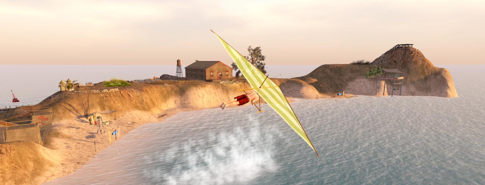 Ricco hang gliding