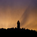Wallace Monument at Sunset