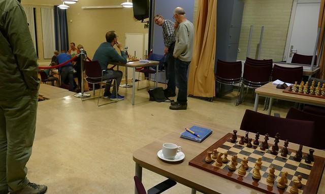 Pallas Deventer - ESG KNSB-bekerwedstrijd