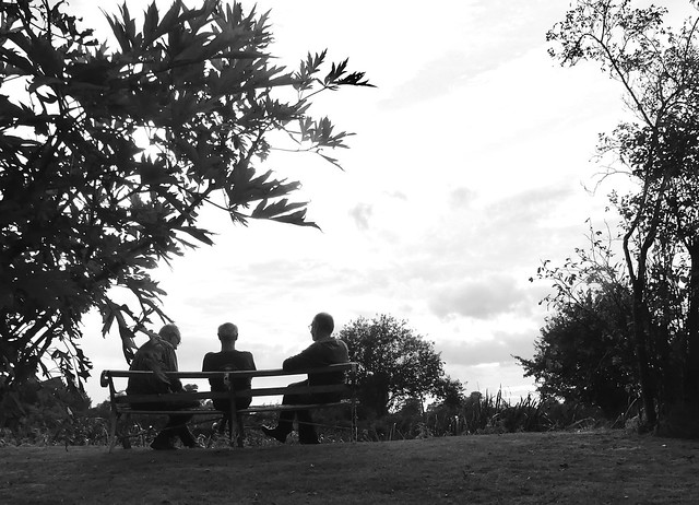 Blokes on a bench, Panasonic DMC-FZ330
