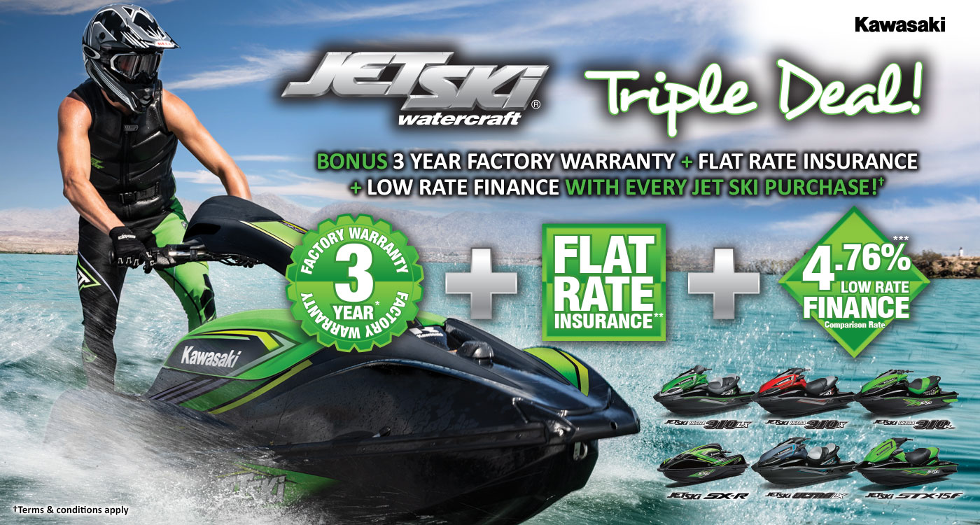 Jet Ski Triple Deal