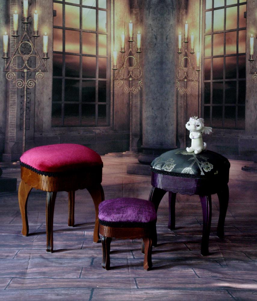 stool Empire& mini stool Empire