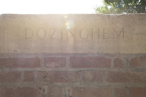 DOZINGHEM MILITARY CEMETERY.