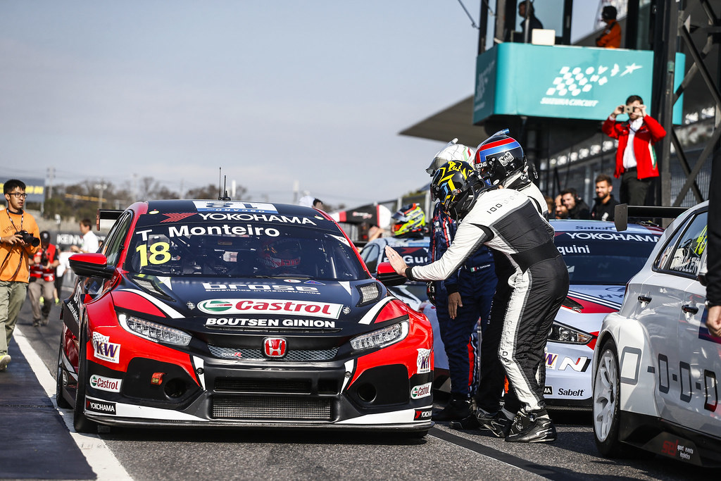 18 MONTEIRO Tiago, (prt), Honda Civic TCR team Boutsen Ginion racing, ambiance portrait during the 2018 FIA WTCR World Touring Car cup of Japan, at Suzuka from october 26 to 28 - Photo Francois Flamand / DPPI