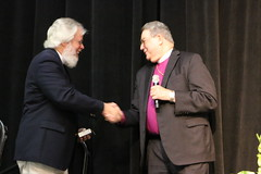 Episcopal Florida posted a photo:Presiding Bishop Michael Curry joined the Diocese of Southwest Florida for their 50th Annual Convention on Oct. 12-13, 2018.