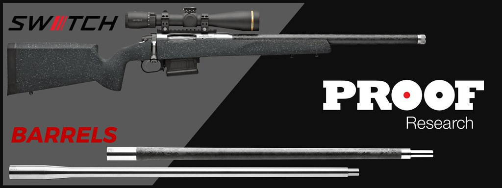 In Stock: Proof Research Firearms and Barrels